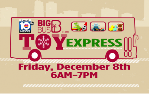 Local 10's Big Bus Toy Express to collect toys across South Florida