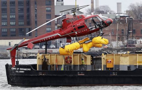 Helicopter Crashes in New York's East River.