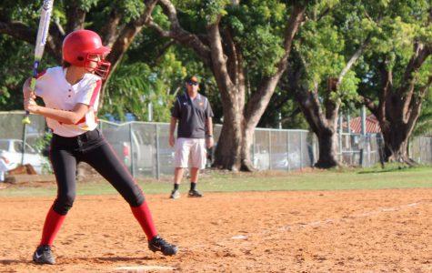 The Girls Softball Team Is Working Hard
