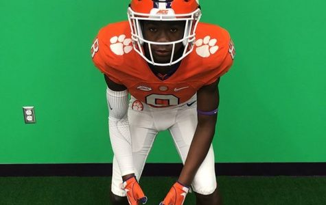 Corde Johnson visit at Clemson University