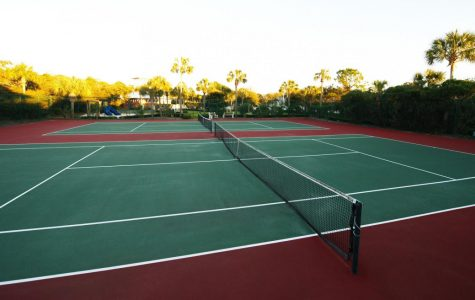 SBHS's New Tennis Court