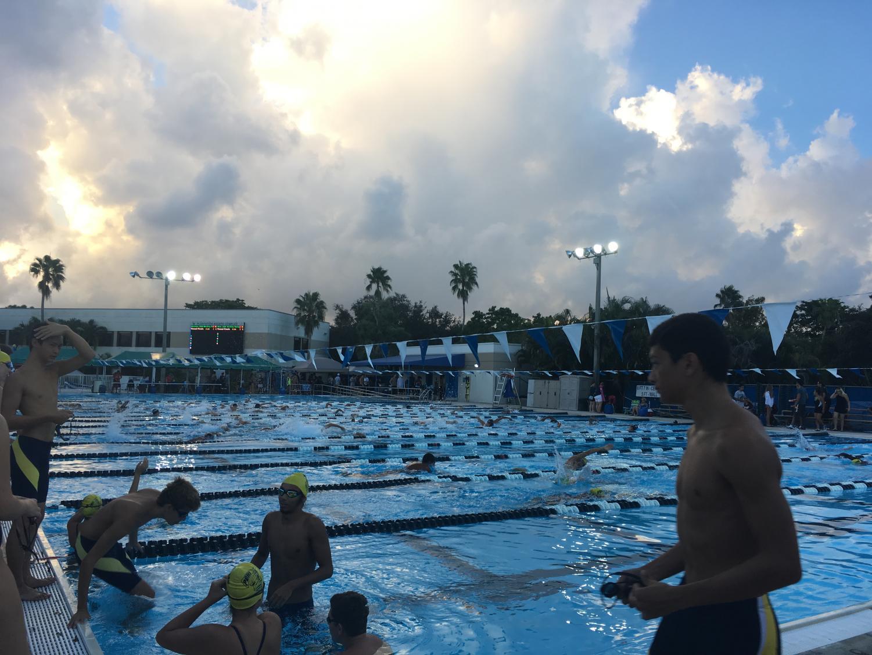 Bulldog Swim Meet at BCAA