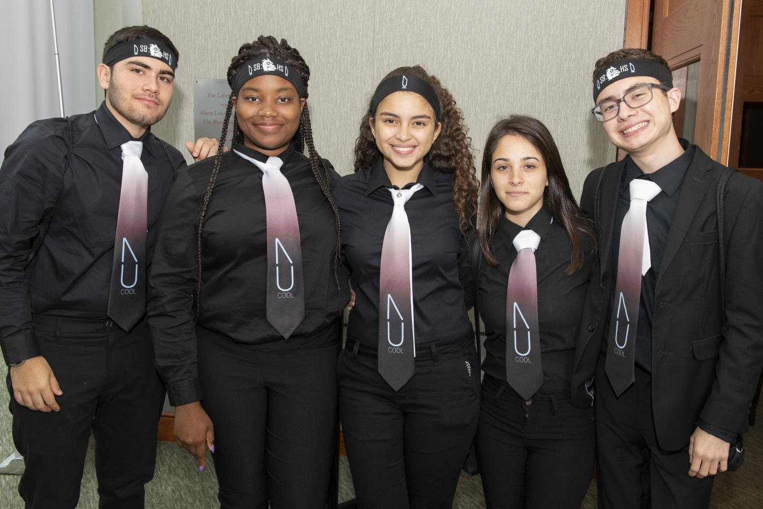 SBHS JA sudents won second place in Broward County JA Fellowship Competition.