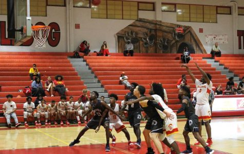 Varsity Basketball Team Wins Last Home Game of the Season