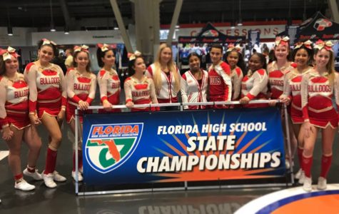 Competition Cheer Get's Knocked Down To The Race To States