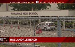 Hallandale High School on Lockdown