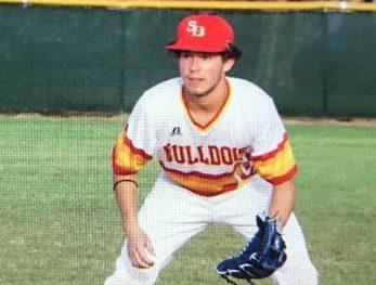 varsity baseball player for south broward high school