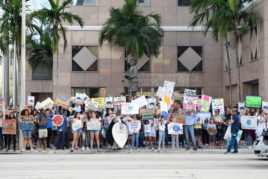 Students%2C+Faculty%2C+and+Representatives+of+Broward+County+Public+Schools+gather+outside+of+the+District+Offices+in+Ft.+Lauderdale%2C+FL+to+protest+climate+change.+These+protesters+are+one+of+thousands+of+groups+demanding+change+in+their+community%2C+taking+part+in+the+Global+Climate+Strike+across+the+world.+Students+came+from+schools+around++the+District%2C+including+South+Broward+High+School%2C+Cypress+Bay+High+School%2C+Somerset+Acedemy%2C+and+many+others.+