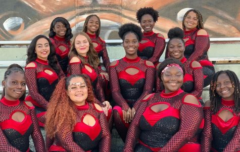 Enthusiastic Work of SBHS Color Guard