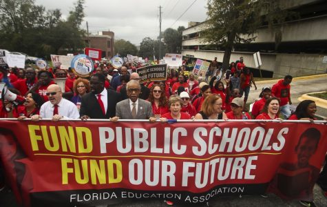 South Florida teachers arrive in Tallahassee to fight for higher pay