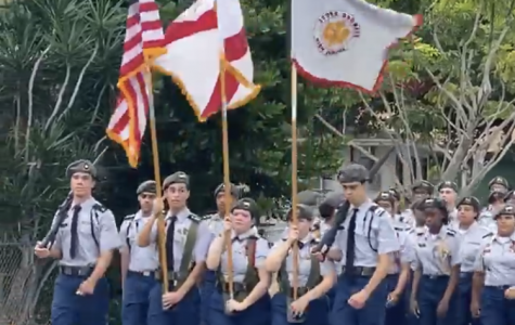 JROTC Students Honor Martin Luther King Jr.