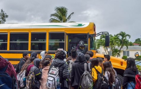 Crowded Buses Leave Students without a Seat