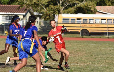 Girls Flag Football Team