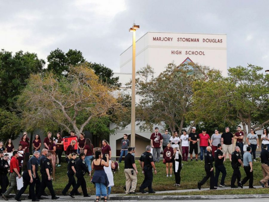 Students Return to Safety