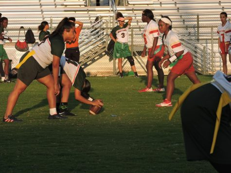 FlagFootball game Mac Arthur vs South Broward