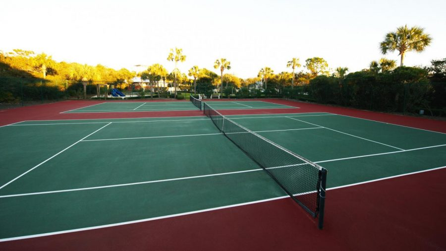 SBHS's New Tennis Court
