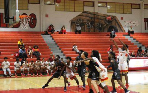 Varsity Basketball Team Wins Last Home Game of the Season