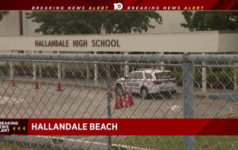 Hallandale High School on Lockdown