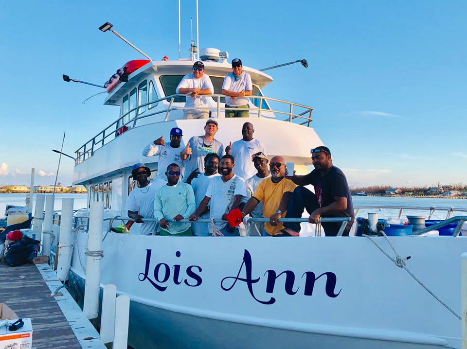 The Lois Ann and crew.