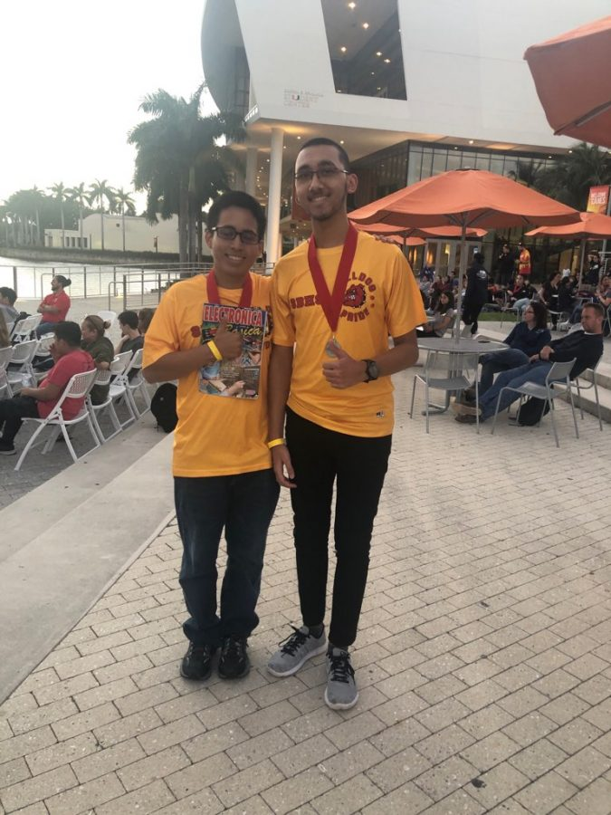 SBHS Science Olympiad Team Moves to 7th Place in Their 2nd Competition