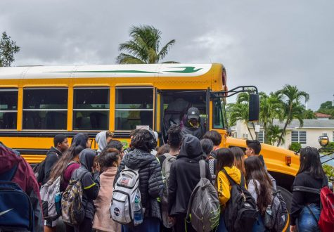 Croweded Buses Leave Students without a Seat