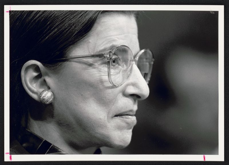 Supreme Court Justice, Ruth Bader Ginsburg.