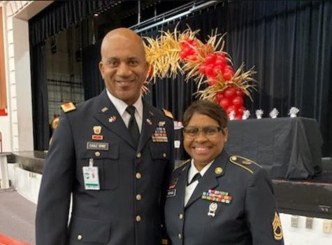 CW3 Eddie Eagle Spirit and SFC Denise George