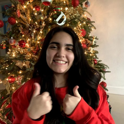Iriana Ruiz getting into the Christmas spirit as Christmas inches closer and closer.