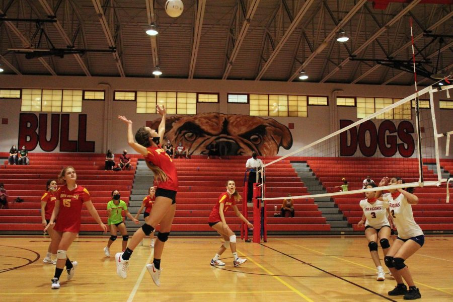 Affects of COVID Felt as SBHS Girls Volleyball Season Winds Down