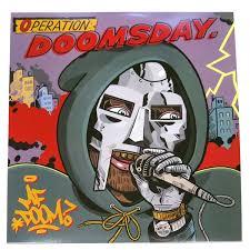 The cover art for MF DOOM