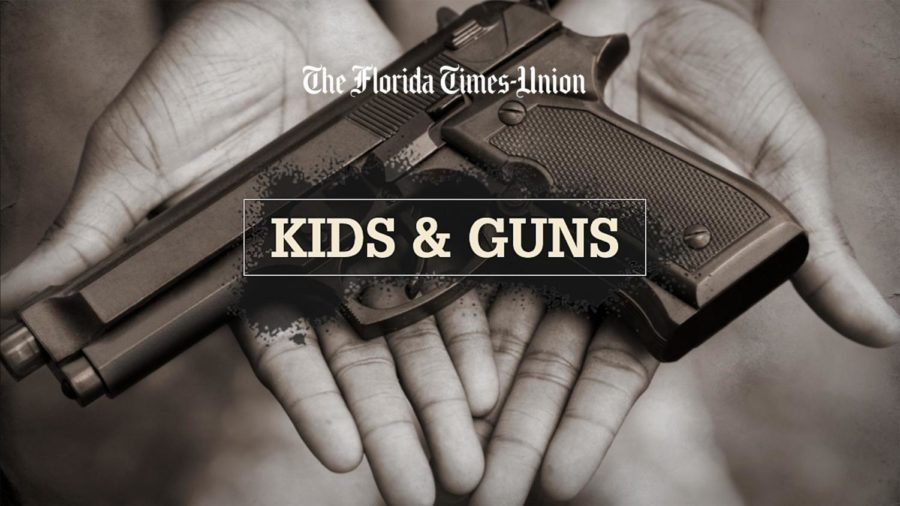 This photo is from Jacksonville.com presenting the violence guns bring to our younger generation of teens.